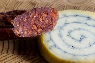 Savoury sausage and cheese