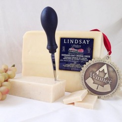 Cheese of the month from Lindsay, Ontario
